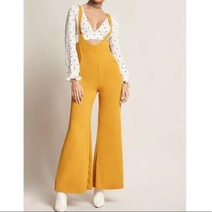 Forever 21 scooped palazzo jumpsuit